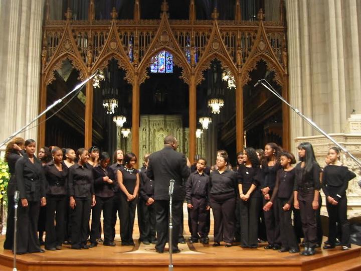Adult hip hop choir